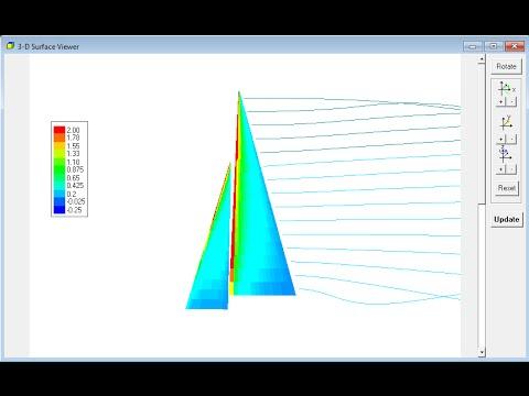 3DFoil Tutorial: Jib and Main Sail Analysis