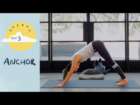 Day 3 - Anchor | BREATH - A 30 Day Yoga Journey