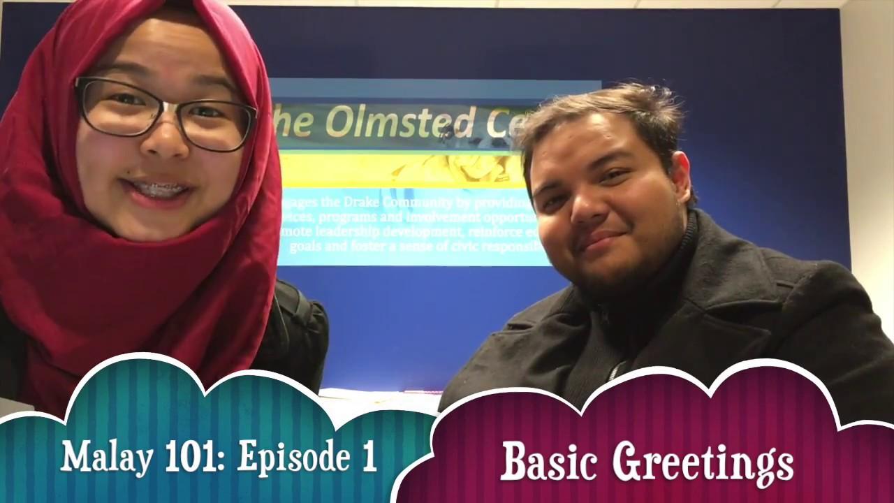 Learn Basic Malay Greetings Episode 1 Youtube