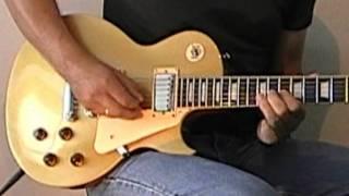 London City Dakota - Goldtop - guitar demo - impro over Farewell Ballad backing track
