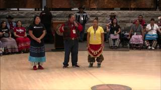 Muscogee Creek Festival - 2 Stomp Dancing