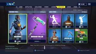 NEW WAYPOINT SKIN! | FORTNITE ITEM SHOP TODAY! | FORTNITE | NEW SKIN (7th December)