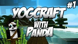 One of HybridPanda's most viewed videos: Yogcraft with Panda - The Beginning