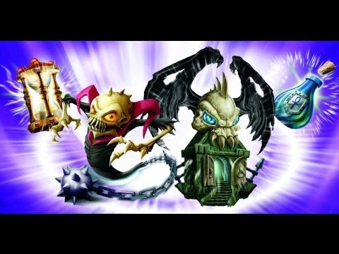 Skylanders: Spyro's Adventure — Chapter 25: Darklight Crypt