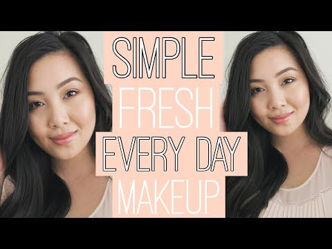 EVERY DAY MAKEUP TUTORIAL   Mymy Tran