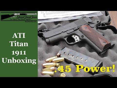 Unboxing The ATI Titan 1911