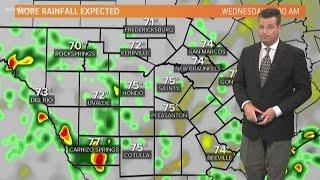 Much-needed rain sticking around in San Antonio this week