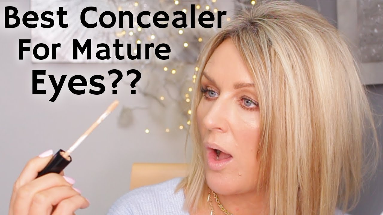 Best Concealer For Mature Eyes? New Products Chatty GRWM