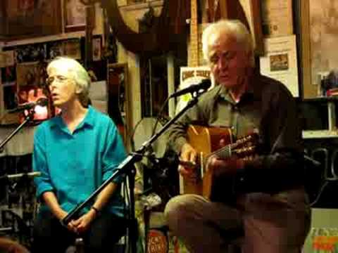 "STEVE GILLETTE & CINDY MANGSEN AT THE COOK SHACK  - ""Dancy Farrow"""