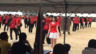 長崎県立佐世保北高 体育祭 2014 赤ブロック