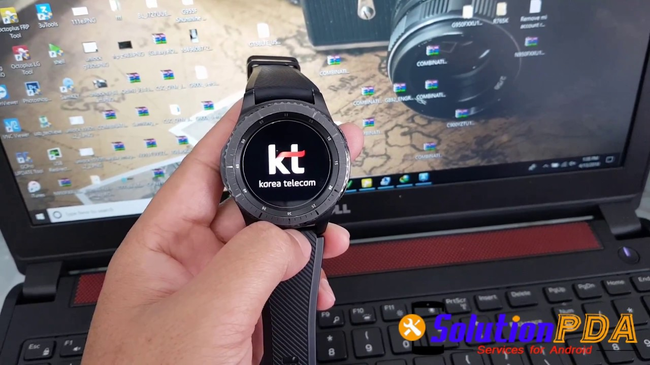 Unbrick Fix Cant Enter Download Wireless Samsung Gear S3 Frontier R765K  R765S R765F