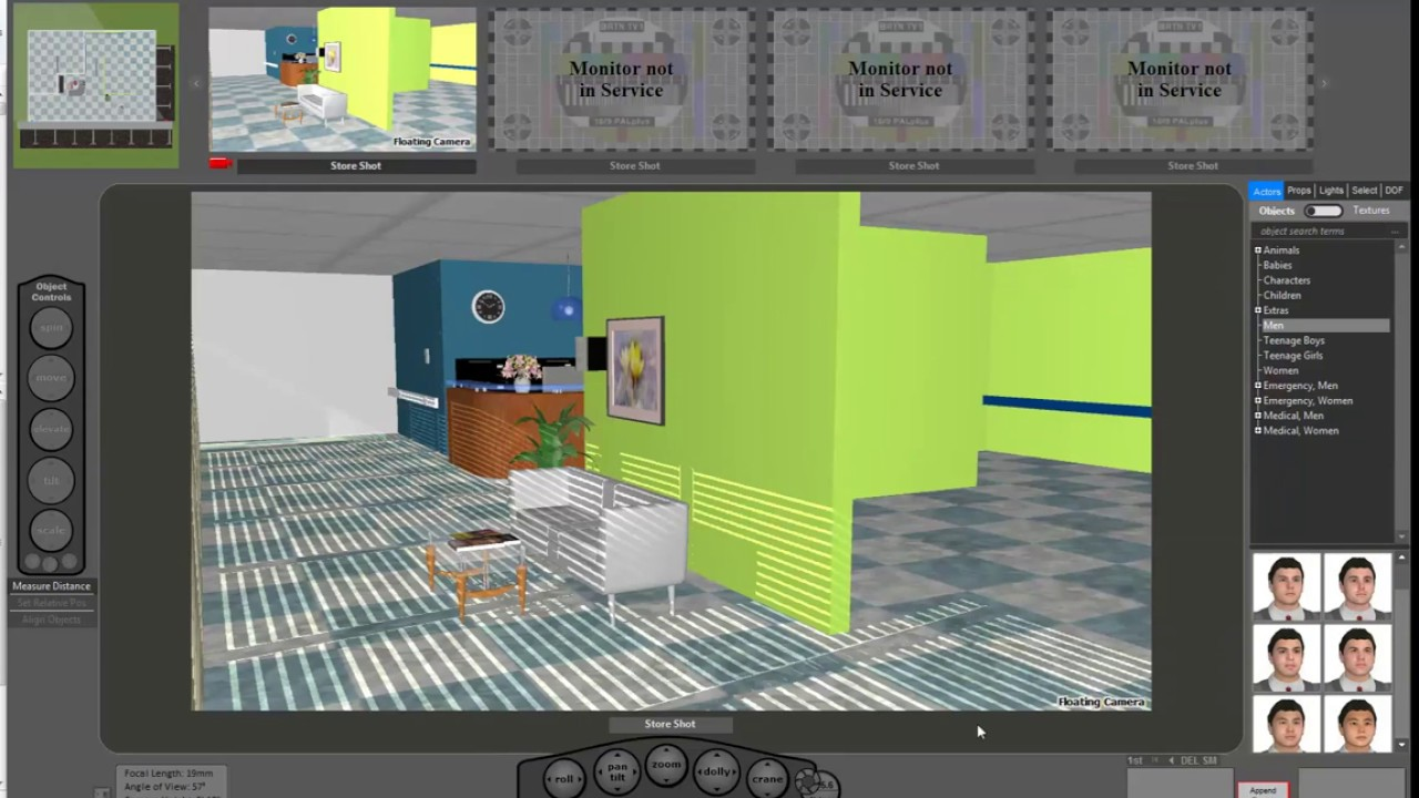 FrameForge 4 | Tweening Enhancements | Storyboard Software - YouTube
