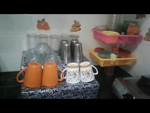DIY Kitchen Organization Ideas- Spice  Organization  ||Indian Kitchen Organization by Sana'sRasoi