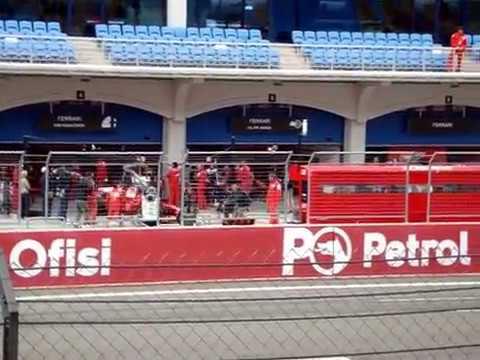 2008 F1 Formula 1 Türkiye Antrenman, Sıralama, Yarış (ana tribün)