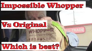 BK Whopper Vs Impossible Whopper Which is best?