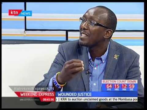MMC Africa Law Partner Peter Munge on Morning Express - Wounded Justice