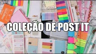 TOUR PELA MINHA COLEÇÃO DE POST IT | DICAS DE COMO...