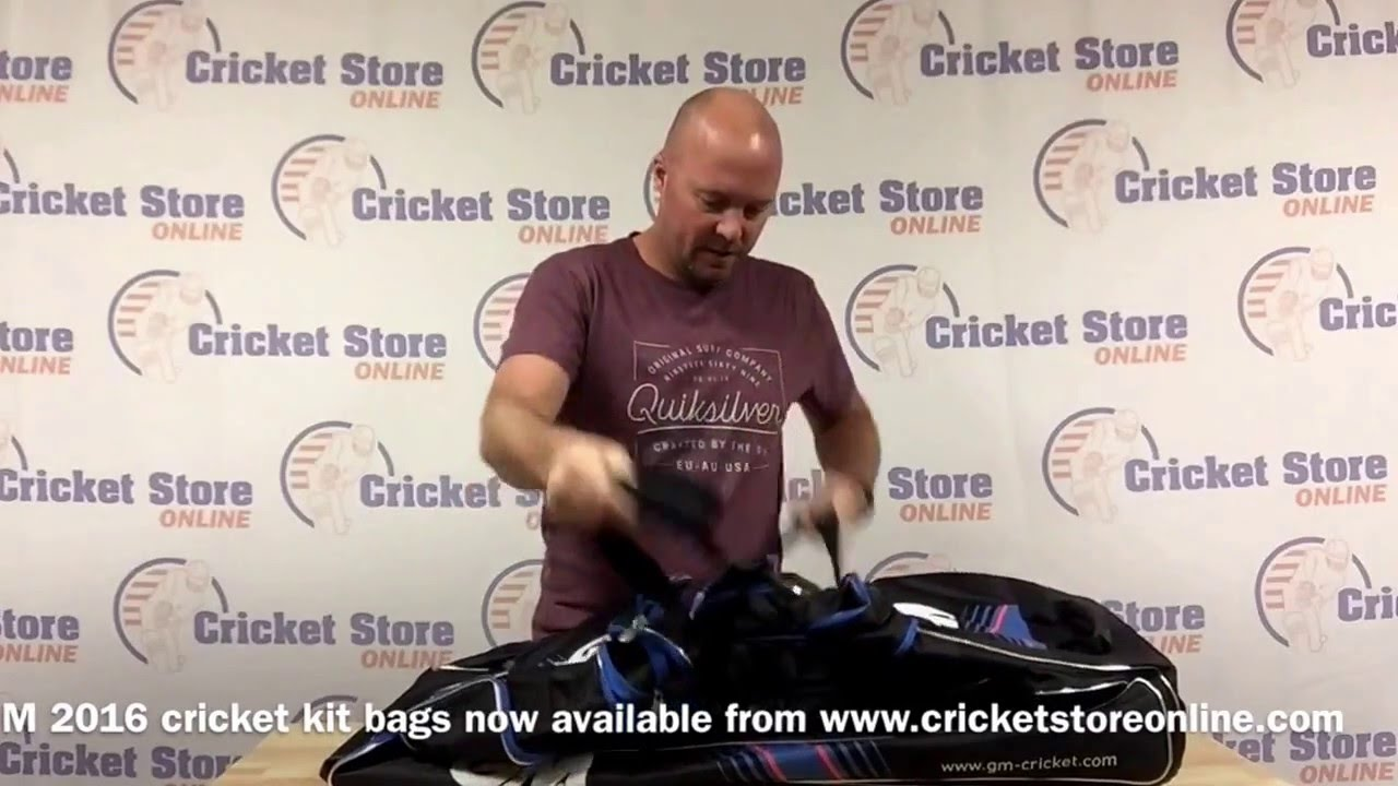 GM 2016 cricket kit bags review - YouTube 445722565d