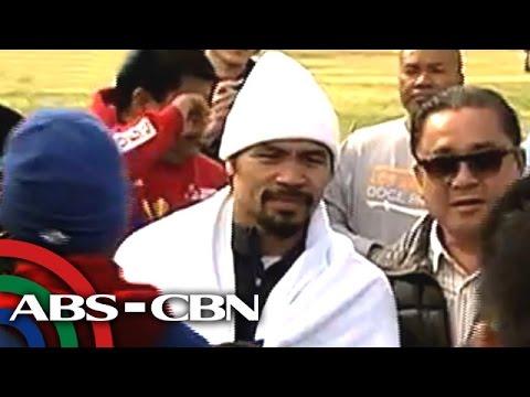Pacquiao pinagpahinga sa training para iwas-burnout