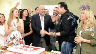 حكيم ورزان في احتفال شعبي اف ام بعيد ميلادها الاول