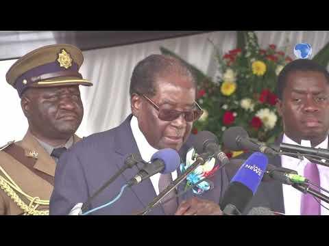 Former Zimbabwean President Robert Mugabe celebrates his 95th birthday
