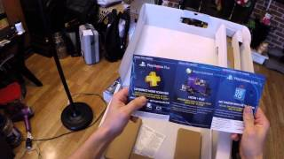 Playstation 4 PS4 Grand Theft Auto V Bundle Unboxing, Assembly, Review!