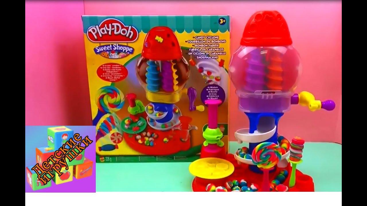 Play doh фабрика сладостей подробно Play doh Sweet Shoppe Frosting .