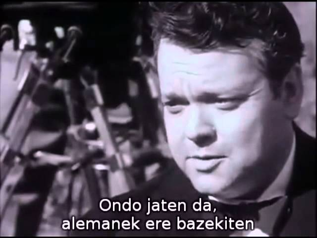 The Land of the Basques - Orson Welles Full documentary with Basque subs