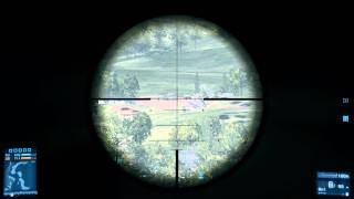 Battlefield 3 Sniper Rifle Bullet Drop Comparison: Text Commentary