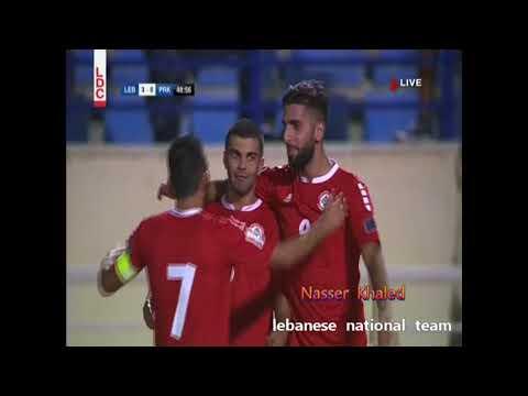 لبنان وكوريا الشمالية 5-0 ضمن تصفيات كاس اسيا 2019