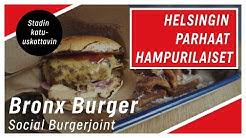 Helsingin parhaat hampurilaiset: Social Burgerjointin Bronx Burger on kaupungin katu-uskottavin
