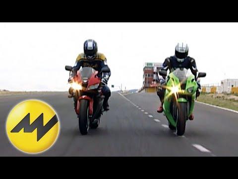 Honda CBR 600 Vs. Kawasaki Ninja ZX-6R Vergleich Der Japanis