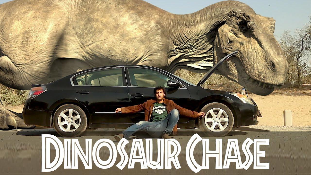 T Rex Chase Remastered Part 1 Jurassic World Fan Movie