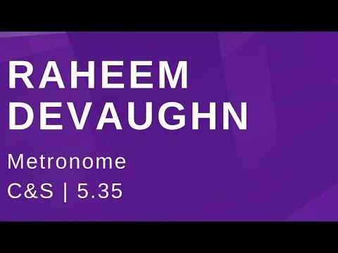 Raheem DeVaughn Metronome (C&S)
