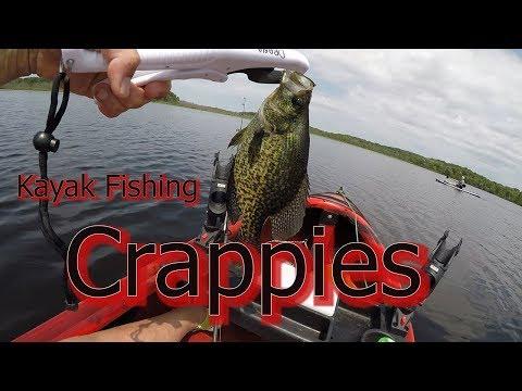 Kayak Fishing ..Crappies... Wisconsin