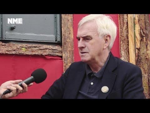 Glastonbury 2017: Backstage with John McDonnell
