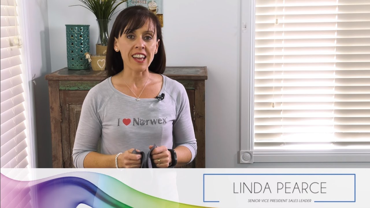 Norwex All Purpose Kitchen Cloth For Grease Mini Moment With Linda