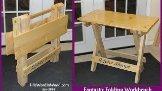Fantastic Folding Workbench