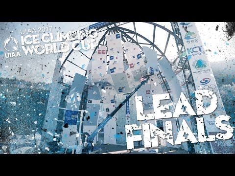 Lead Finals l Ice Climbing World Cup 2017 l Cheongsong