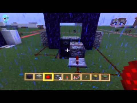 how to make a nether portal in minecraft xbox 360