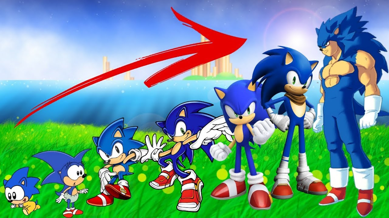 Sonic Boom Growing Up Compilation Youtube