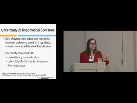 How to Make Advance Care Planning Easier: Rebecca Sudore, MD \\ Ungerleider Lecture Series