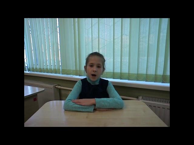 Изображение предпросмотра прочтения – УльянаЖурина читает произведение «Учитель» А.А.Блока