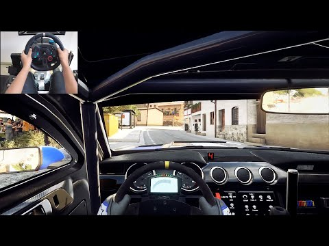 Ford Mustang GT4 - Dirt Rally 2.0 | Logitech g29 gameplay
