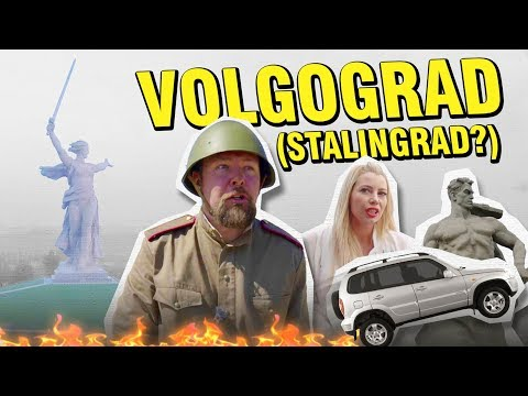 Volgograd on $100: Military Parades, a giant lady, and Salt