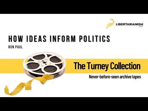 Ron Paul In 1981: How Ideas Inform Politics