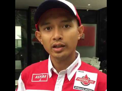 Dimas Ekky Pratama, pebalap Federal Oil Gresini Moto2