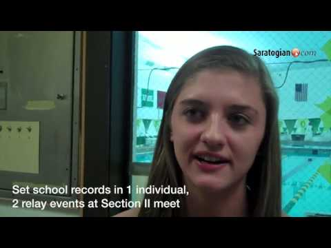 @SaratogaSports Girls Athlete of the Week: Gabby Celia, Saratoga Springs Swimming