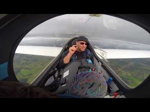 First experience of wave flying in a sailplane