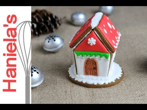How To Make Mini Gingerbread Birdhouse Decorate With